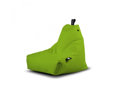 Sillón-puff ergonomico mini Mighty verde